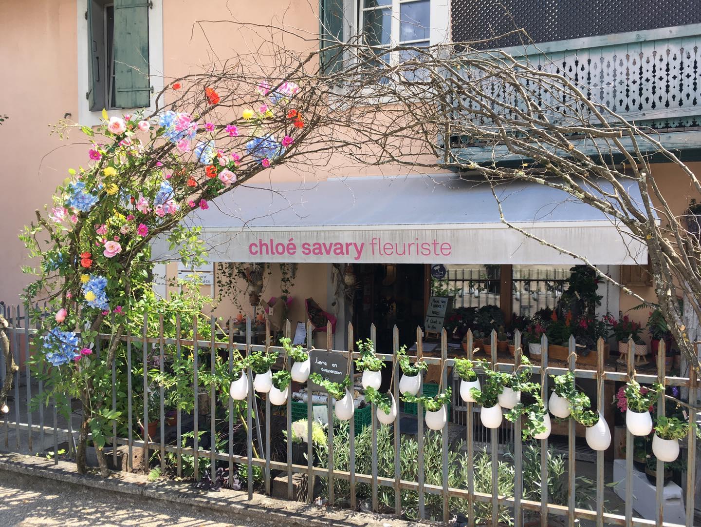 Magasin de fleurs à Mies La boutique Chloé Savary