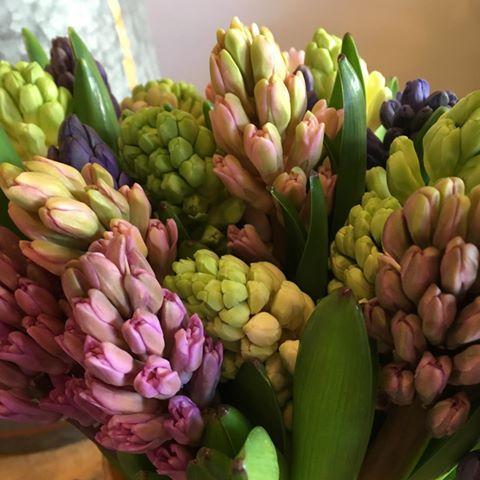Bouquet de fleurs de saison modulable bouquet de jacinthes achat en ligne de fleurs
