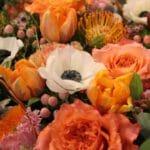 bouquet de fleurs modulable bouquet rond coloré achat en ligne de fleurs