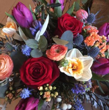 bouquet de fleurs modulable bouquet rond fleurs du jour achat en ligne de fleurs