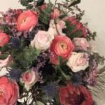 bouquet de fleurs modulable bouquet rond pastel achat en ligne de fleurs