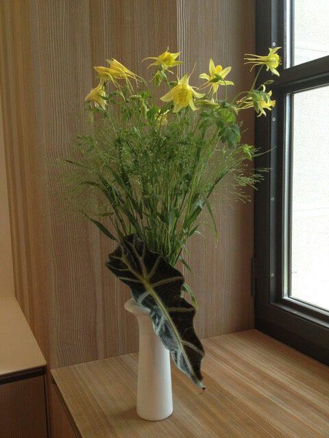 composition florale jaune galerie des créations florales