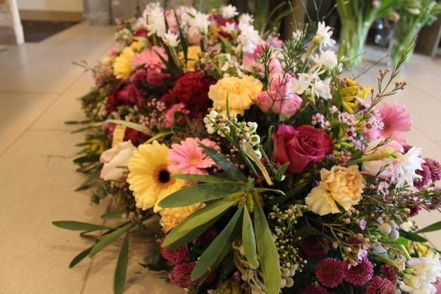 décoration florale dernier hommage galerie des créations florales