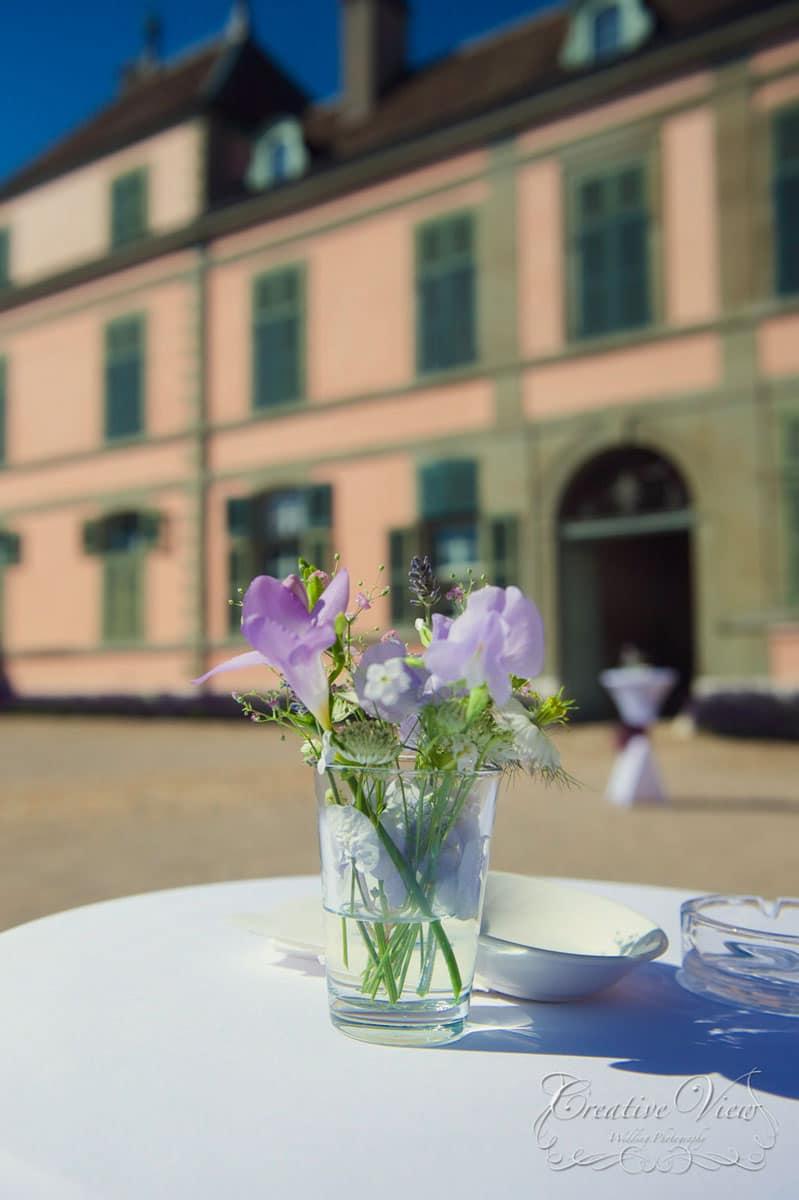 centre de table décoration florale événement galerie des créations florales
