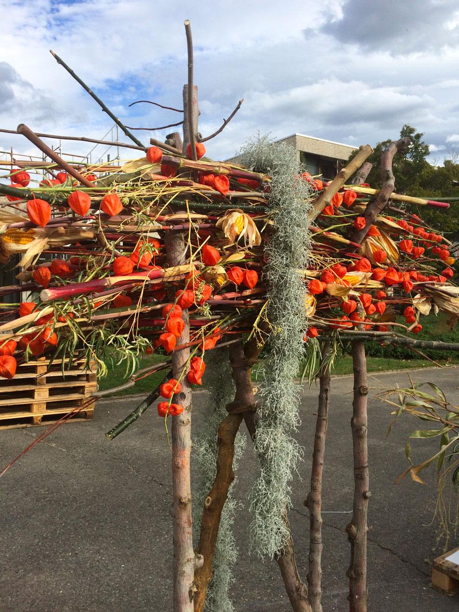 structure décoration florale événement galerie des créations florales