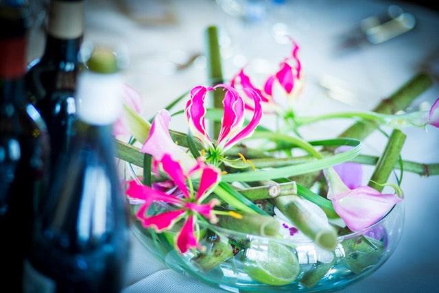 centre de table décoration florale mariage galerie des créations florales