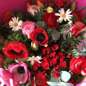 Bouquet d'amour printemps amour achat fleurs en ligne saint-valentin