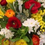 bouquet de fleurs modulable bouquet de printemps coloré achat en ligne de fleurs